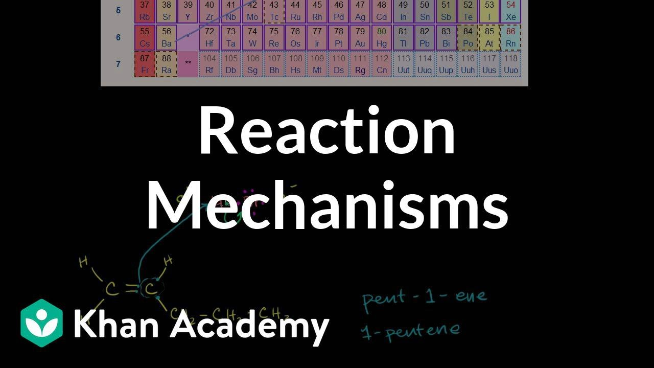 Introduction to reaction mechanisms (video) | Khan Academy