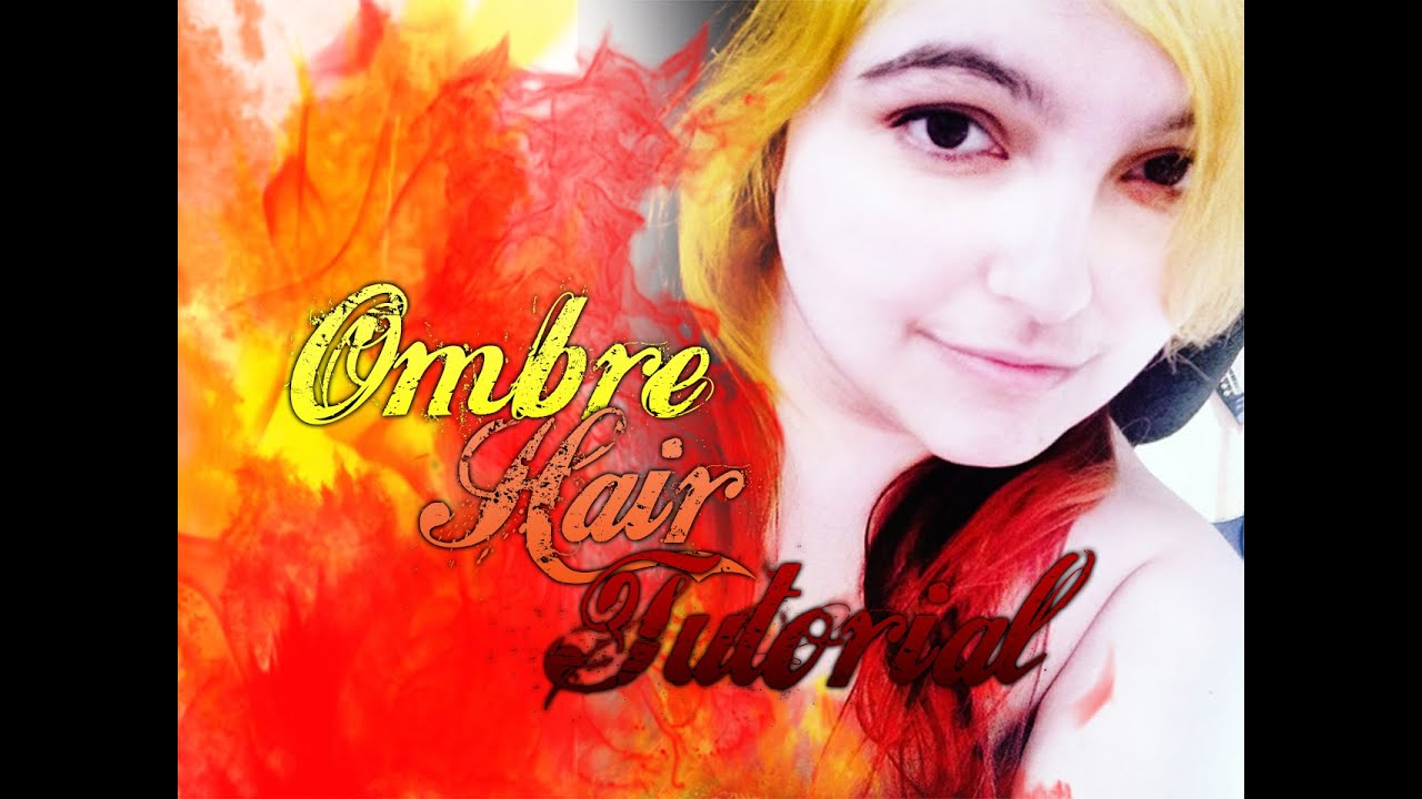 Ombre Fire Hair Tutorial Get My Hairstyle