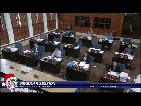 34th Guam Legislature Live Feed