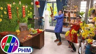image THVL | Bí mật quý ông - Tập 211[3]: Cha con Phong vui vẻ đón Tết bên nhau