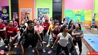 Zaskia gotik   bang jono   zumba   dance  fitness   dewi studio