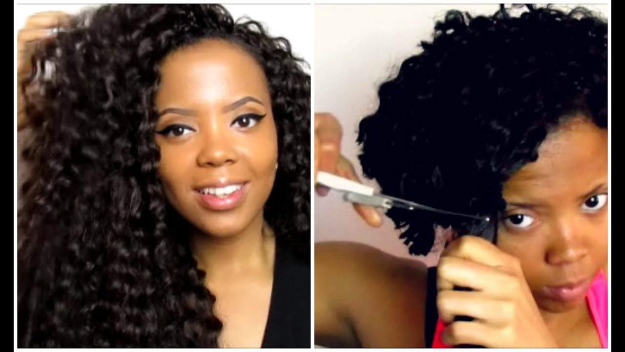 How To Take Down Remove Crochet Braids Fast Demo