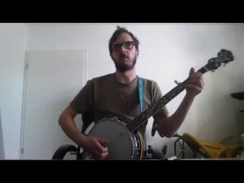 The Pogues - Jesse James - Banjo Cover - Ibanez B200 with Tabs&Chords