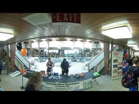 360 View of the University of Findlay's Alumni Memorial Union