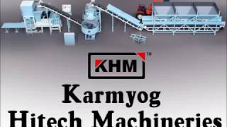 Fly Ash Brick Making Machine (KMA 252)