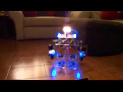 Humanoid Robot Based On Arduino
