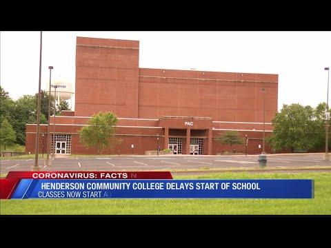 Henderson Community College delays start of fall semester