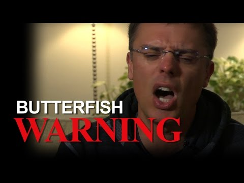 BUTTERFISH WARNING