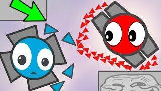 Diep.io NEW TOP EPIC 50% MAZE TROLLING !! Diep.io Funny Moments