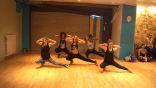Olatunji - Bam Bam -  Aya Choreo Dancehall Soca class in Paris