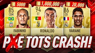 IS THIS THE TOTS MARKET CRASH OR PRE? FIFA 19