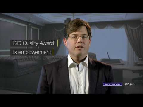How could we define the philosophy behind the BID Quality Awards?