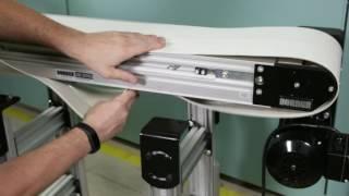 3200 Series Belted Conveyor Belt Change