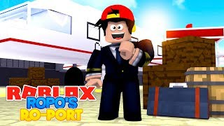 ROBLOX Adventure - ROPO GETS HIS OWN AIRPORT!!
