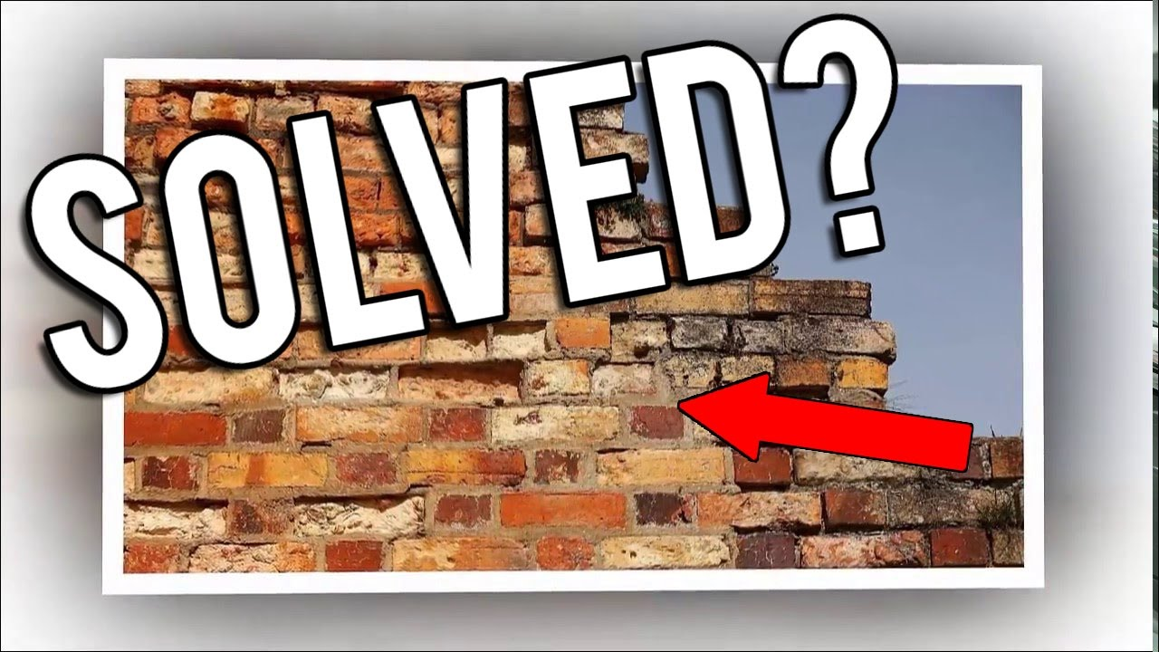 Cigar Brick Wall Optical Illusion Solved 2017