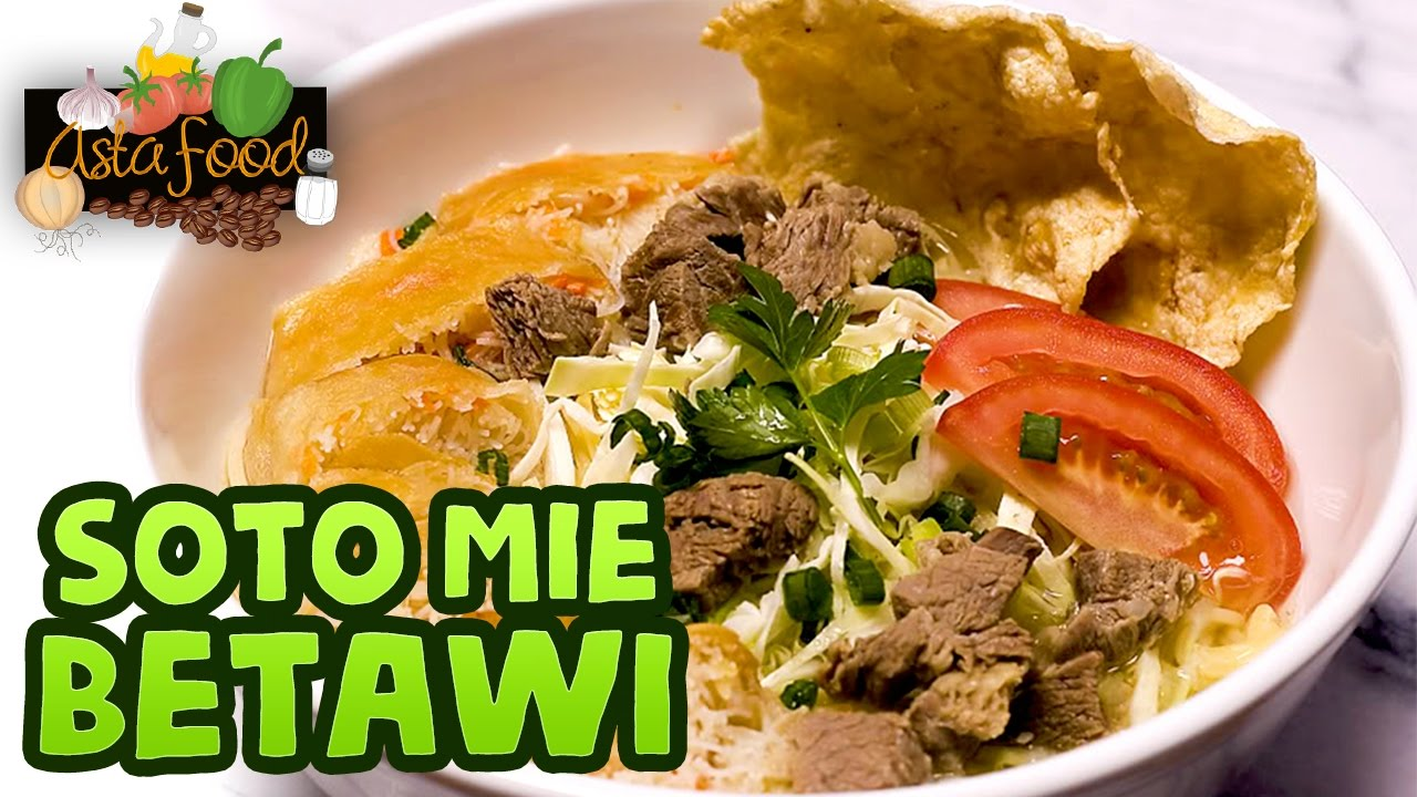 Soto Is Popular In Jakarta Soto Mie Betawi Eng Subtitle Asta