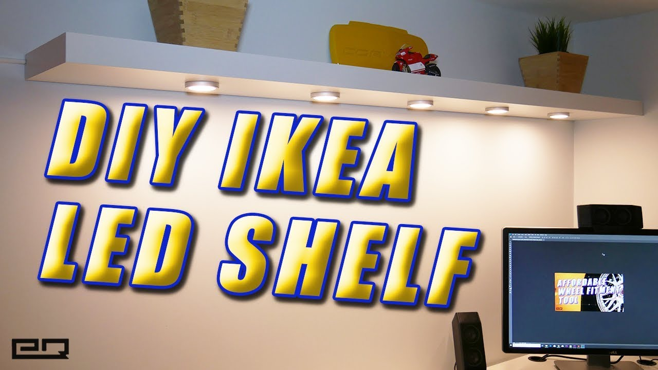 Ikea Hack Lack Shelf With Omlopp Leds Tutorial