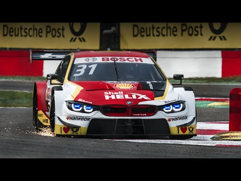 BMW F82 M4 DTM - sounds and sparks (2019 Zolder)