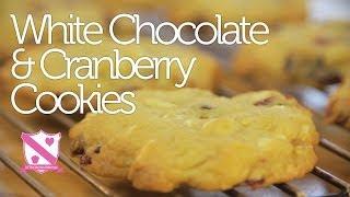 White Chocolate, Cranberry & Orange Cookie Recipe