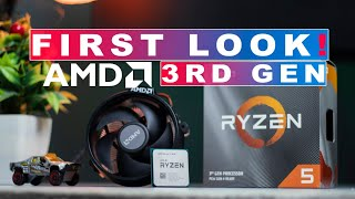 RYZEN 5 3600 UNBOXING & FIRST LOOK !! Benchmark !! AMD 3rd gen is Beast !!