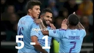 Manchester City Vs Atalanta 5-1 UEFA Champions League 22/10/2019