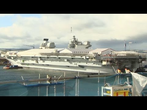 HMS Queen Elizabeth Shipshape And Almost Ready | Forces TV