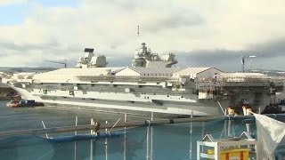 hms queen elizabeth shipshape and almost ready