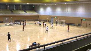 H26.09.20 第59回 東北学生ハンドボール 秋季リーグ vs 学院工 後半?