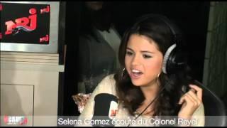 Selena Gomez écoute du Colonel Reyel - C'Cauet sur NRJ thumbnail