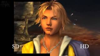 Final Fantasy X SD VS HD PS3