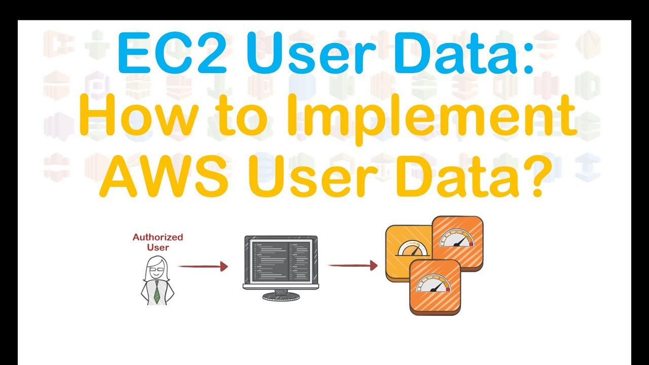 EC2 User Data - How to implement AWS user data or How to Bootstrap EC2  Instances
