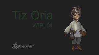 Character Modeling in Blender: Tiz Oria 1/?