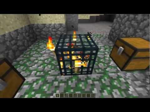 Minecraft trucos 04 hacer una granja de experiencia for Como hacer una granja de peces