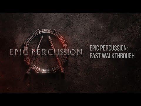Epic Percussion KONTAKT Fast Walkthrough