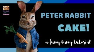 Peter Rabbit Cake Tutorial! Make the cake from the movie..