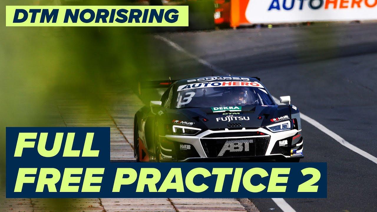 RE-LIVE | DTM Free Practice 2 - Norisring | DTM Norisring powered by BWT Season Finale 2021