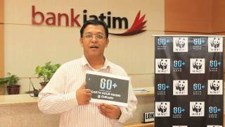bank jatim Pare Kediri Mendukung Earth Hour