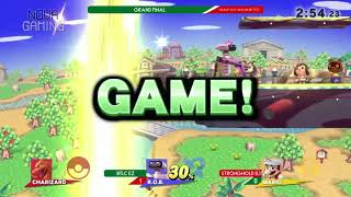SmashMX OTS Test - Btlc Ez (ROB) Vs. StrongHold (ZSS/Mario) - Grand Final