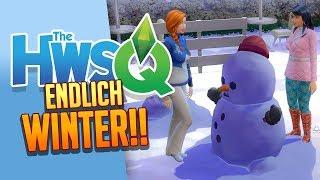 SIMS 4: HWSQ 💛 022: Jaaaaaa, endlich WINTER!!