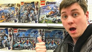 *NEW*Avengers Endgame LEGO Sets Found! TOY HUNT!