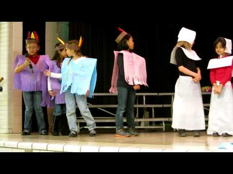 Ms. Brunson's 2nd Grade Discovery Thanksgiving Play