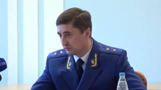 Состоялась пресс-конференция прокурора Саратовской области
