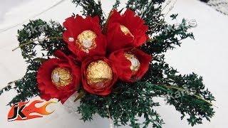 DIY Chocolates Bouquet | Valentine's Day Gift Idea | How to make | JK Arts 143