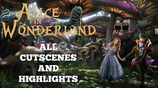 Disney's Alice In Wonderland | PC | HD | 1080p 60 fps | All Cutscenes | Highlights