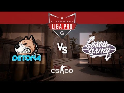 Alienware Liga Pro Gamers Club MAI/18 - DETONA vs Coscu Army (Mirage)