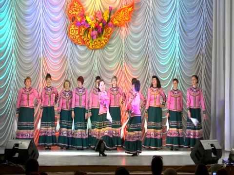 Комплимент танцевальный женский коллектив. ст.Кущёвская