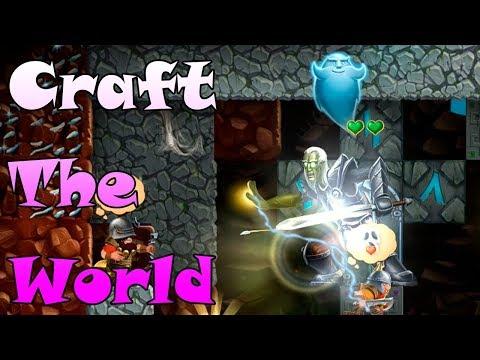 СЕКРЕТНАЯ КОМНАТА Игра Craft The World Мифриловые слитки \ 2d games sandbox