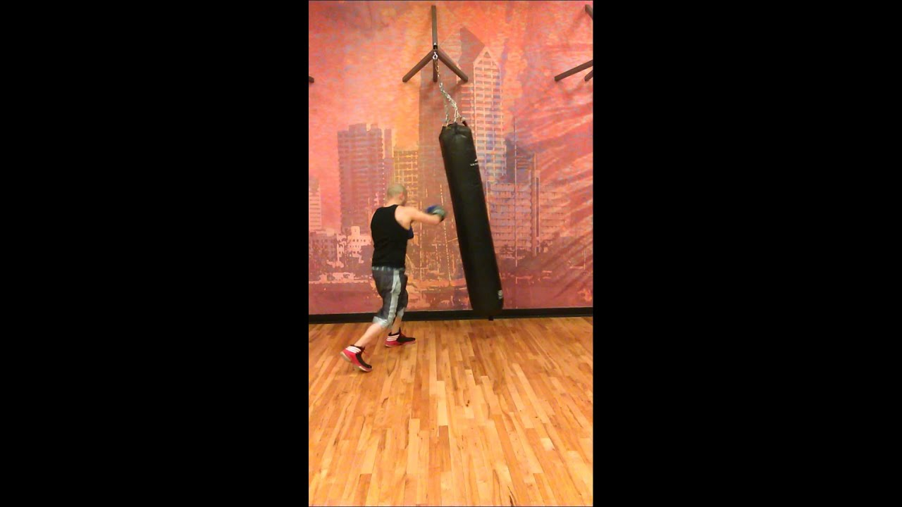 Marcus boxing at LA fitness - YouTube