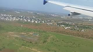 Landing at Vadodara Airport