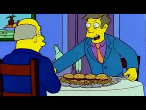 Steamed Hams but it's 3 hours and one second of black screen and silence